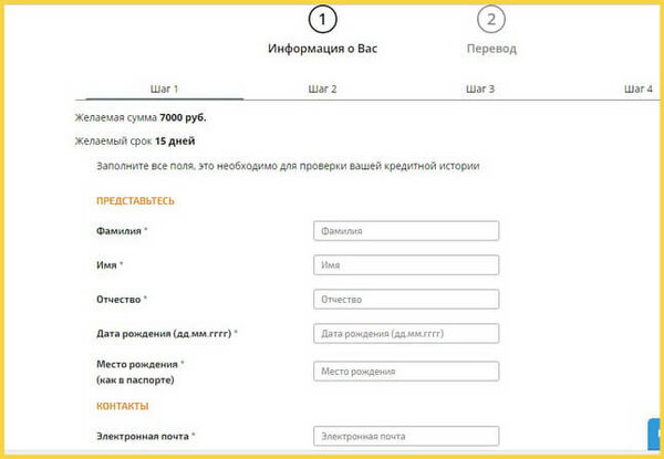 как можно взять кредит онлайн на карту в мфо