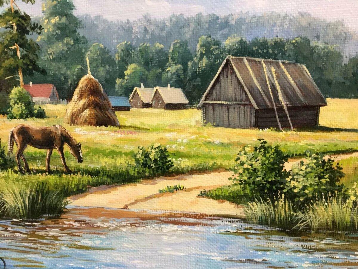 макета картинки на тему русская деревня специалист нас прими