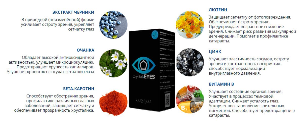Crystal Eyes для восстановление зрения в Салавате