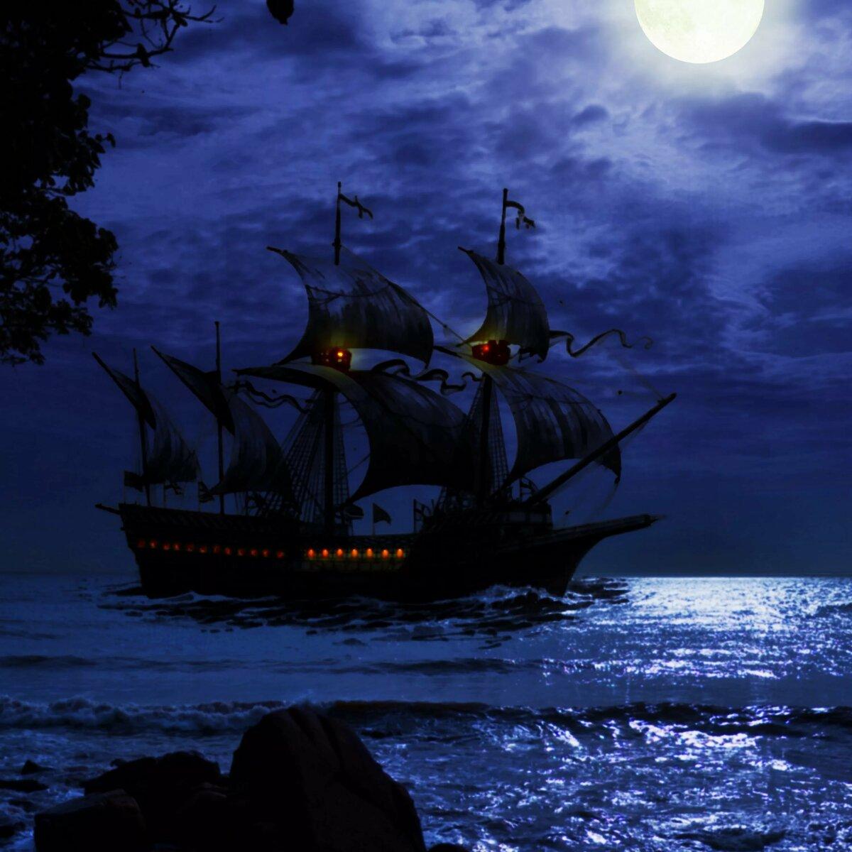 можно пиратские корабли фото картинки фэнтези шторы