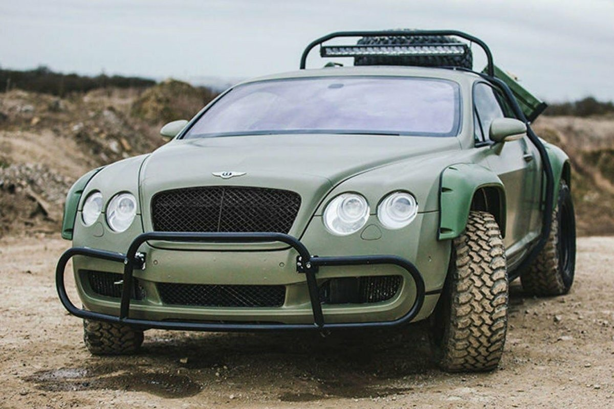 Внедорожник Bentley Continental GT