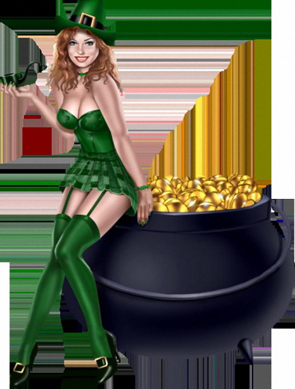 Sexy leprechaun lady costume