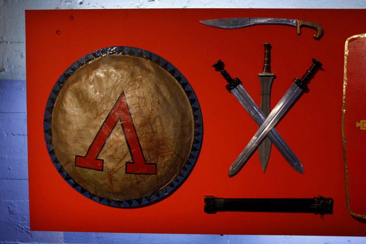 Оружие спартанцев название