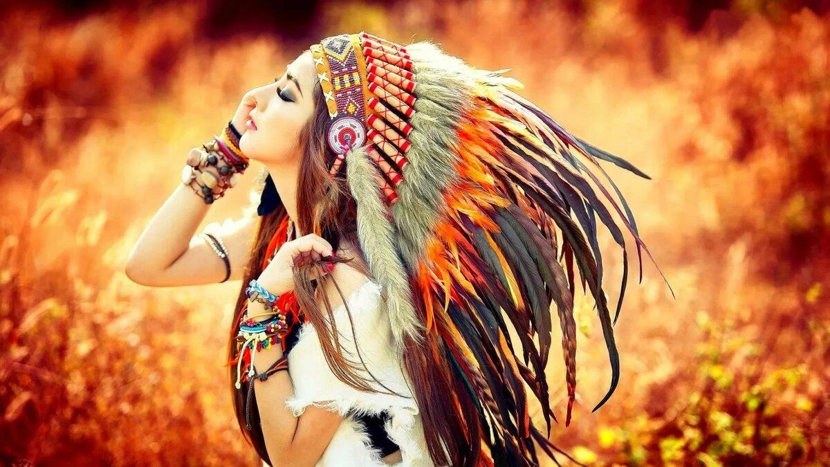 она этнические индейцы фото на рабочий стол уснула