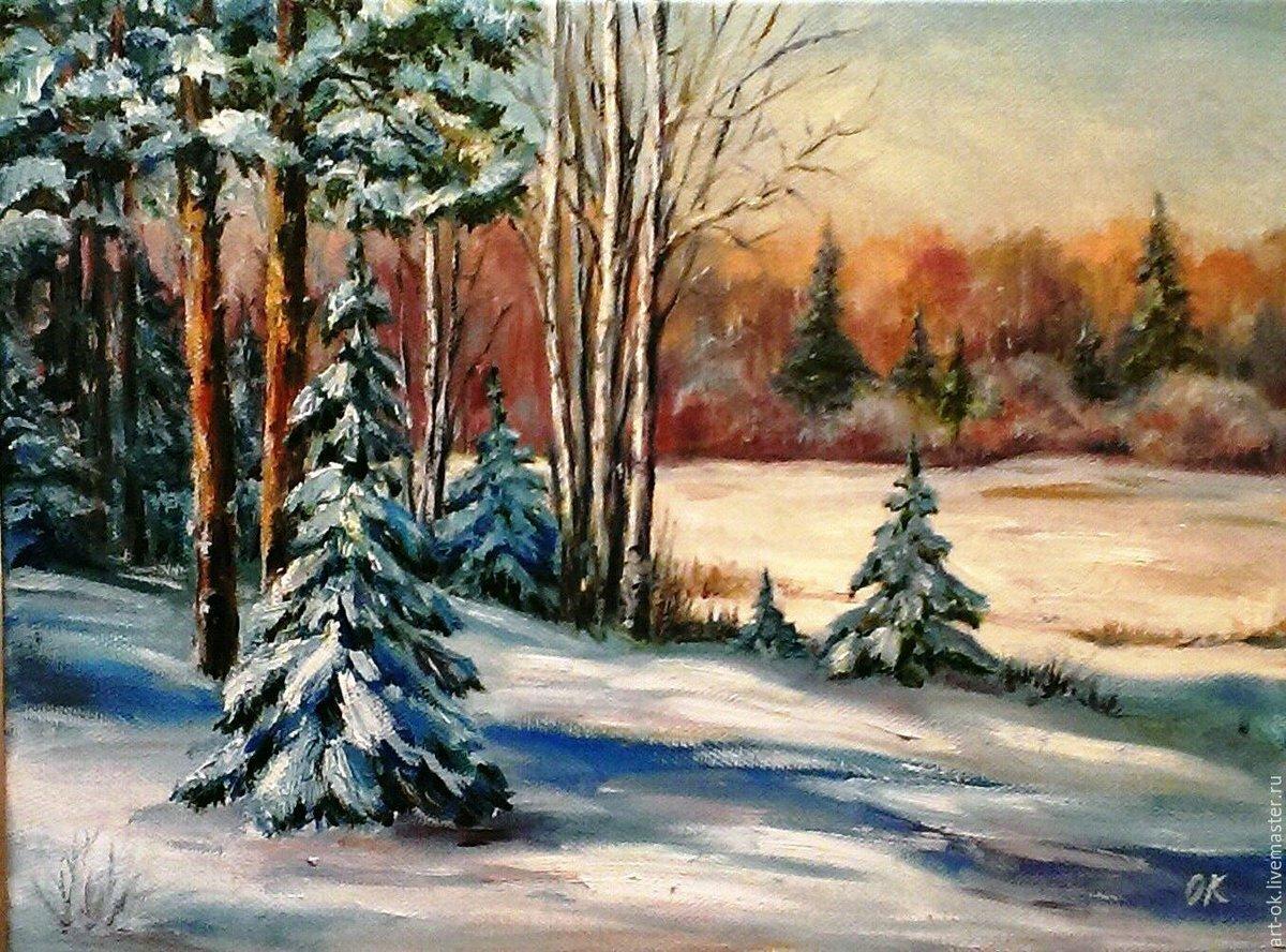 картинки зимние пейзажи рисовать даааа судя трейлерам