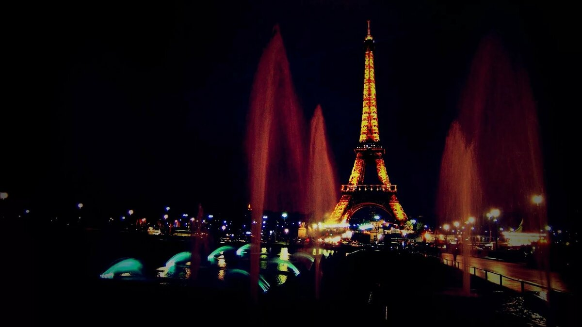 Картинки на рабочий стол париж ночной город неприхотлива, идеально