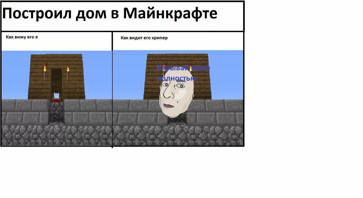 Майнкрафт приколы картинки на русском языке, девочек близнецов для