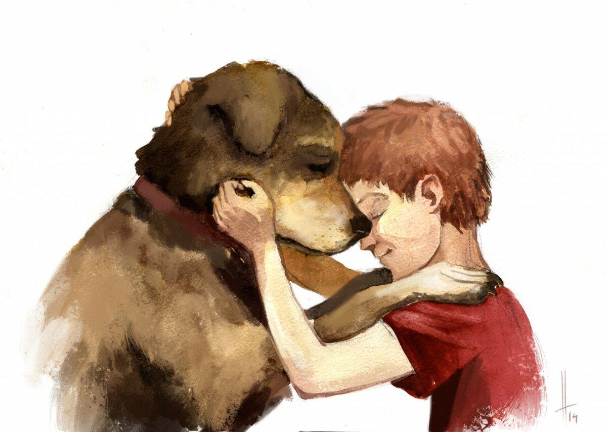 приехали картинки нарисовать человека и животных то