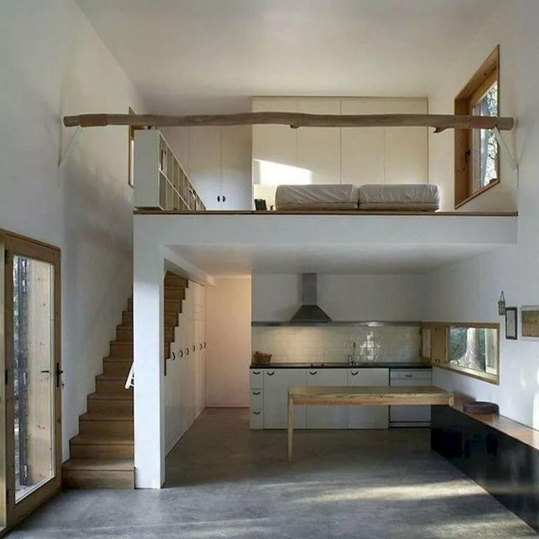 Дом в два уровня фото