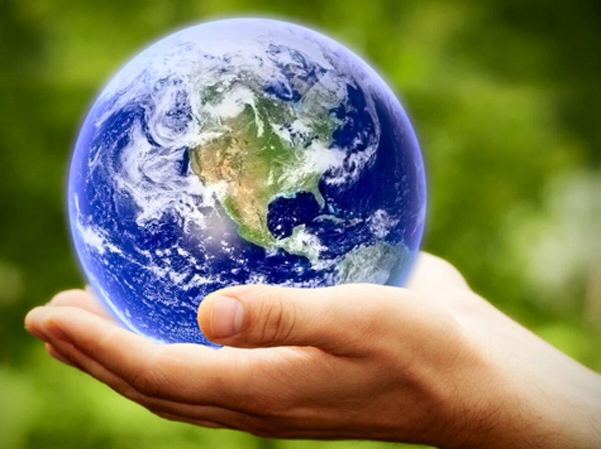 Днем рождения, год экологии открытка