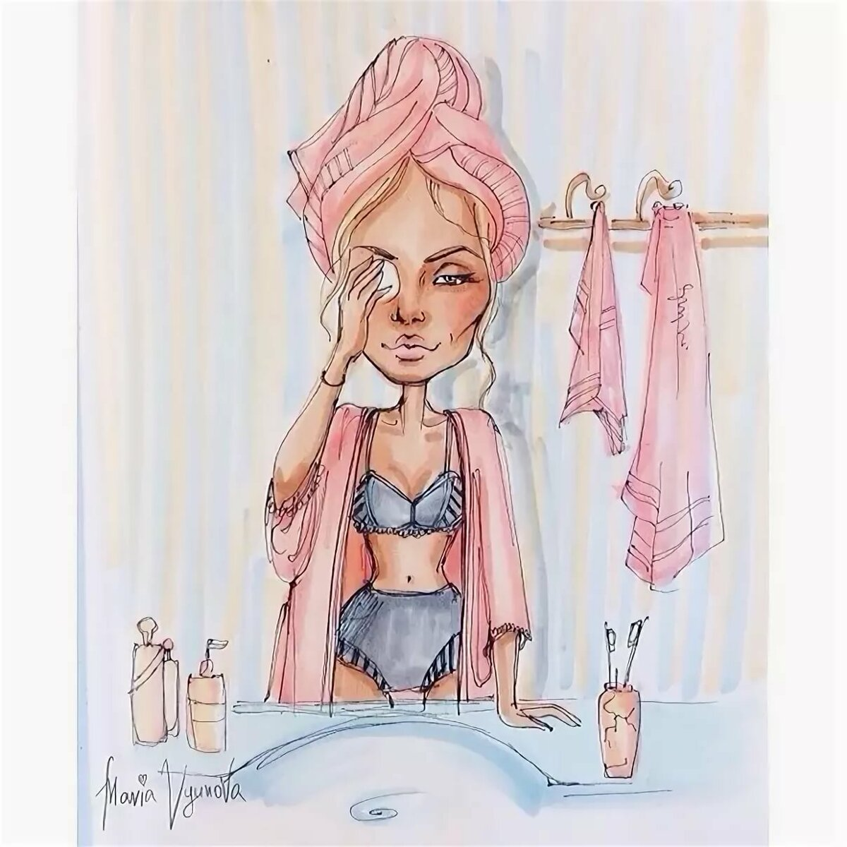 Шрека туалет, смешные картинки про женщин утром