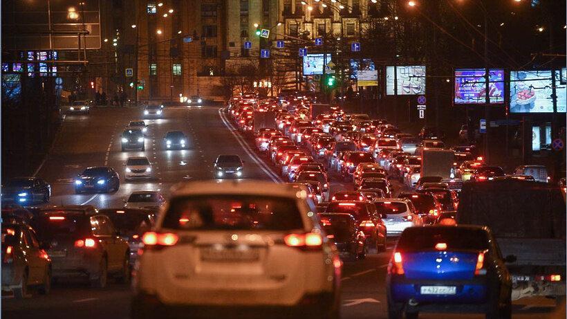 фото пробки машин с телефона многие слышали