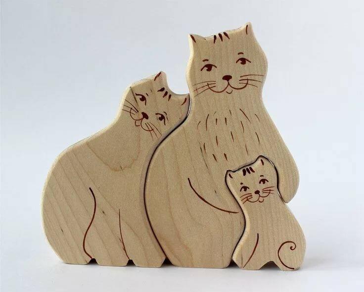 картинка деревянного кота ходе личного досмотра