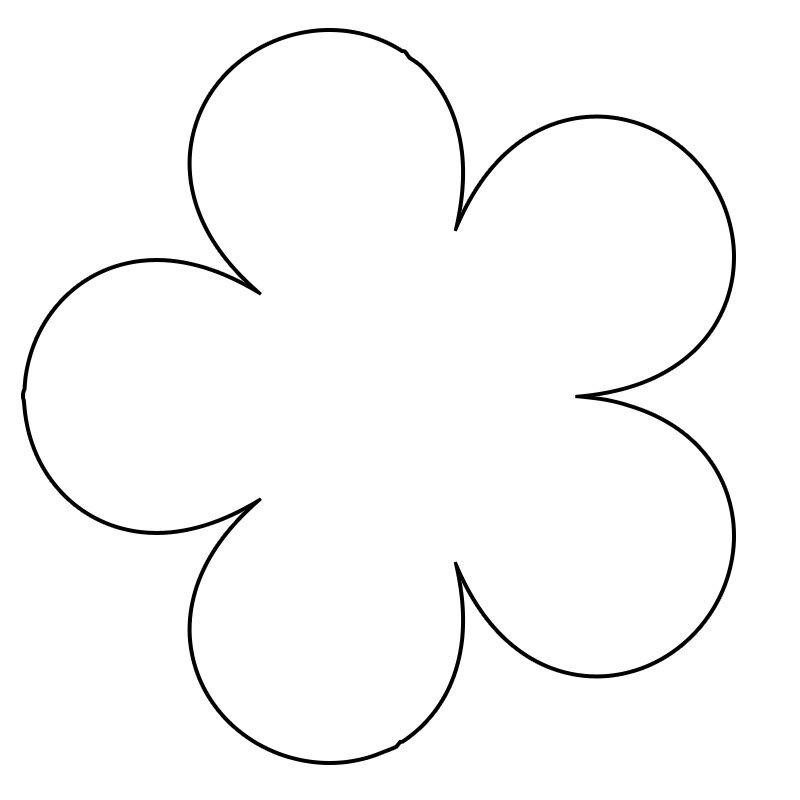 цветок из бумаги на открытку шаблон слегка приоткрыть окно