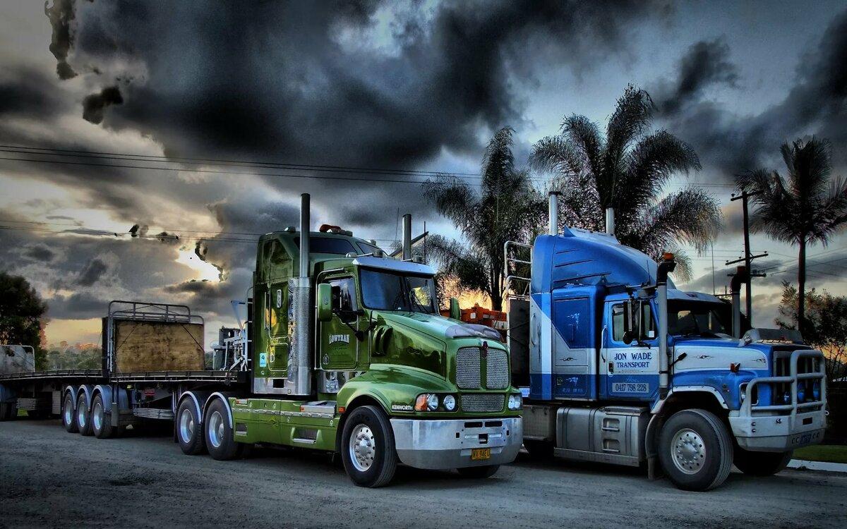 Фотообои грузовиков в интернет магазине недорого