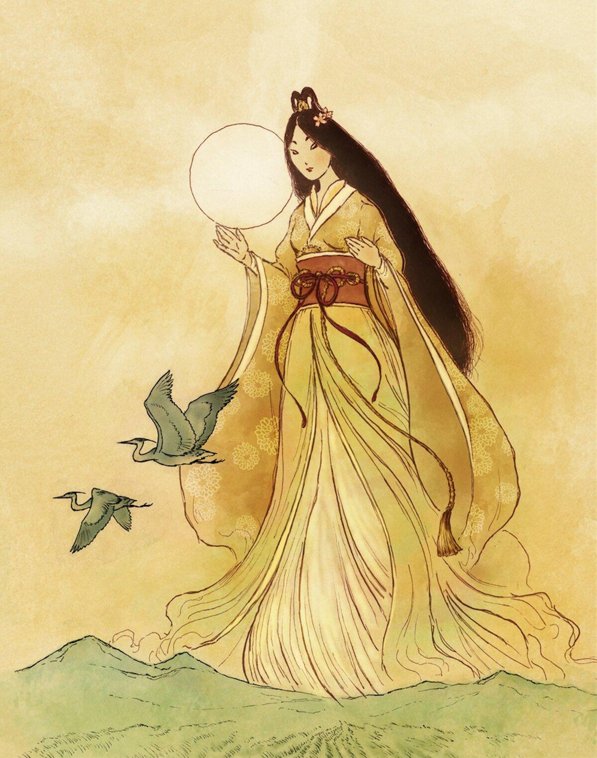 Японские боги картинка