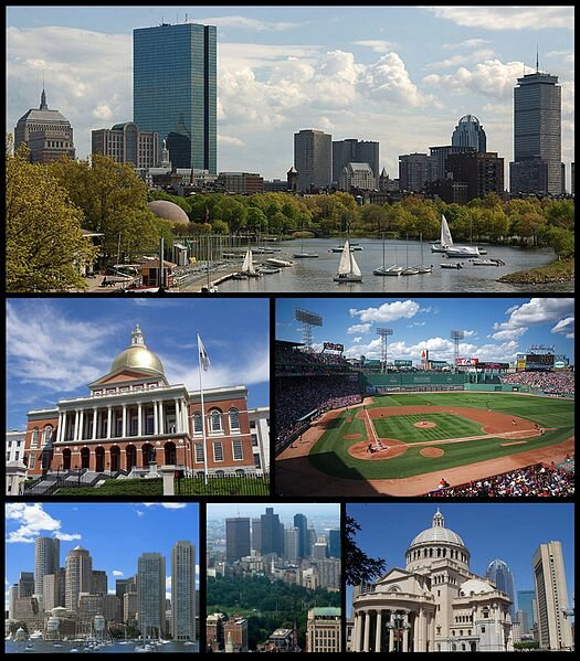 17 сентября 1630 года вСеверной Америке британскими переселенцами основан Бостон