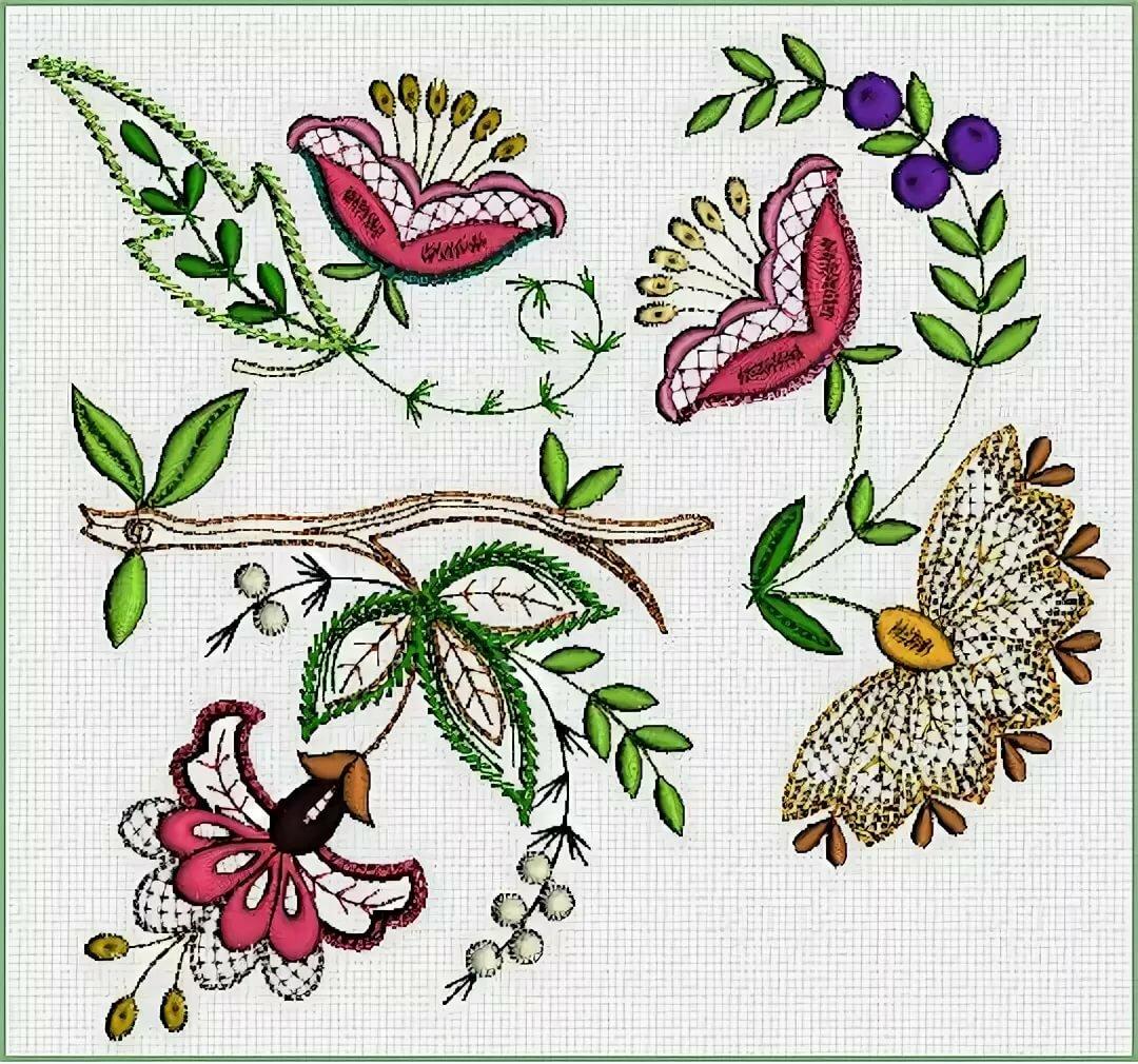 Узоры картинки для вышивания