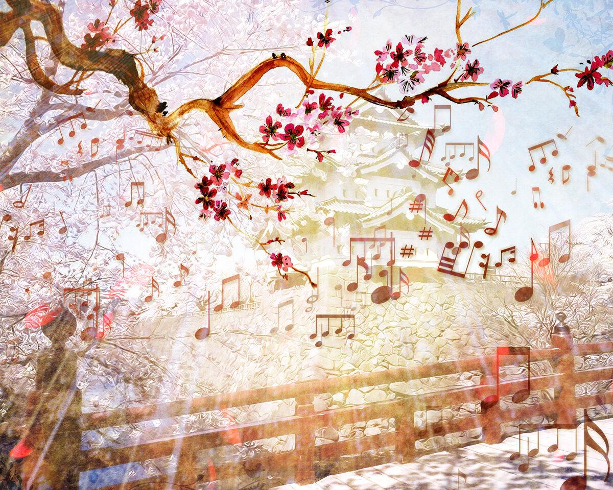 картинки с музыкой весна