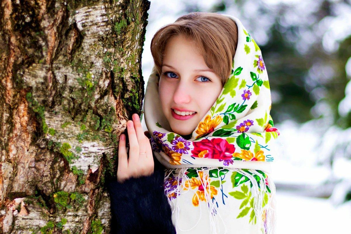 Красивая русская открытка, картинки