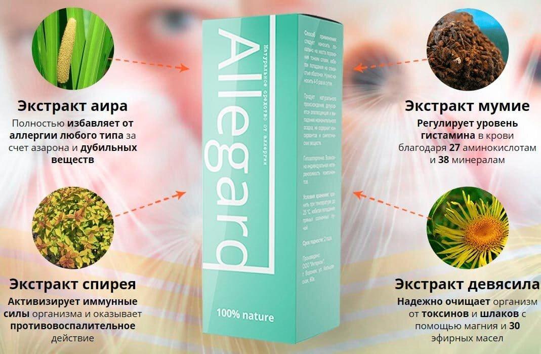 Allegard от аллергии в Рязани