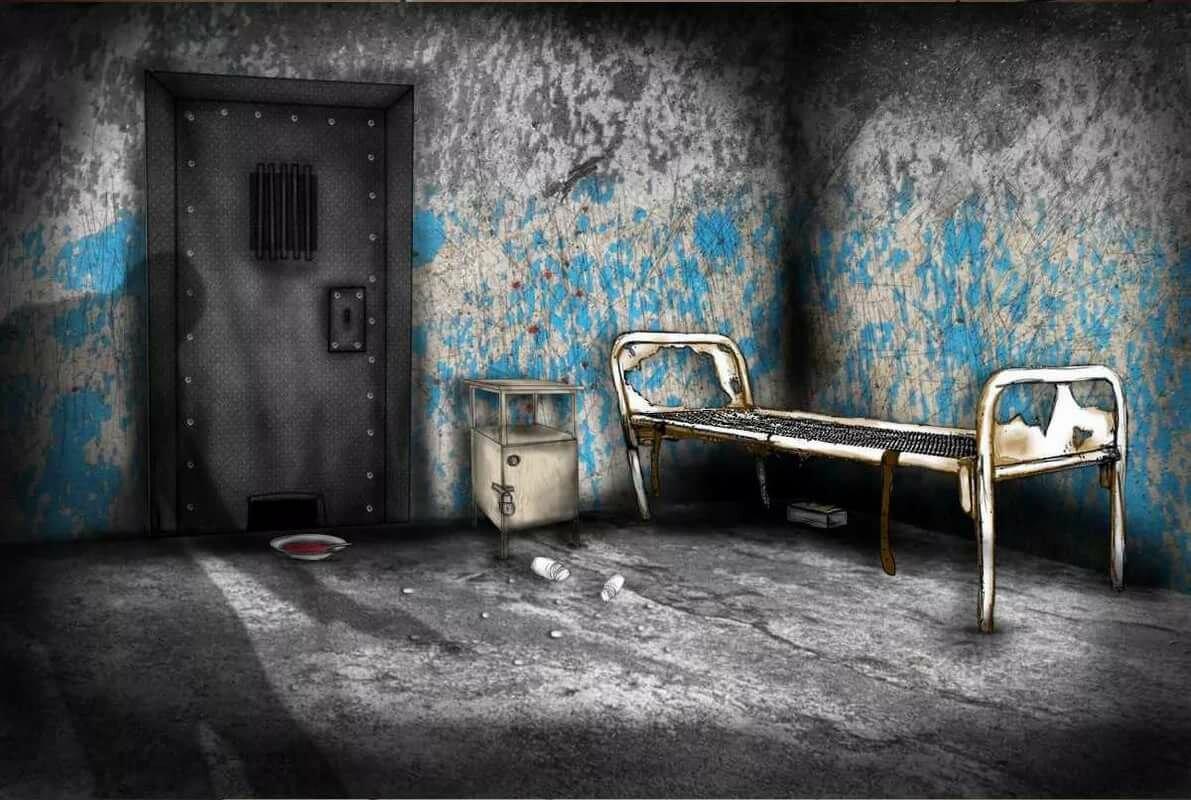Страшные картинки на стенах