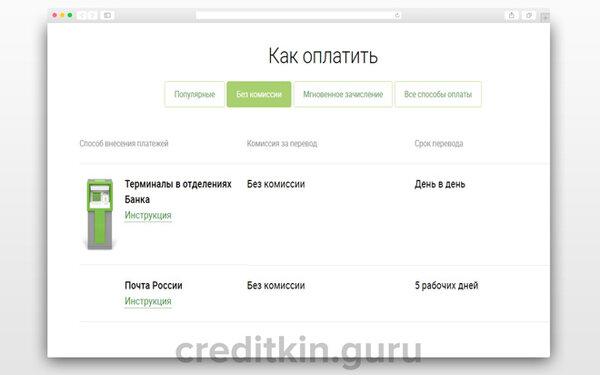 тинькофф банк кредитная линия
