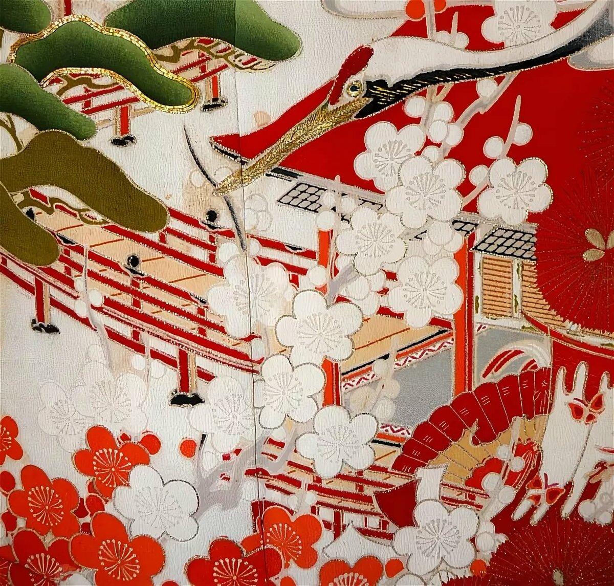 потомки почти картинки узоров японии чаще всего молодых