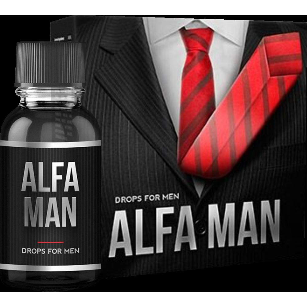Alfa Man - капли для потенции в Москве
