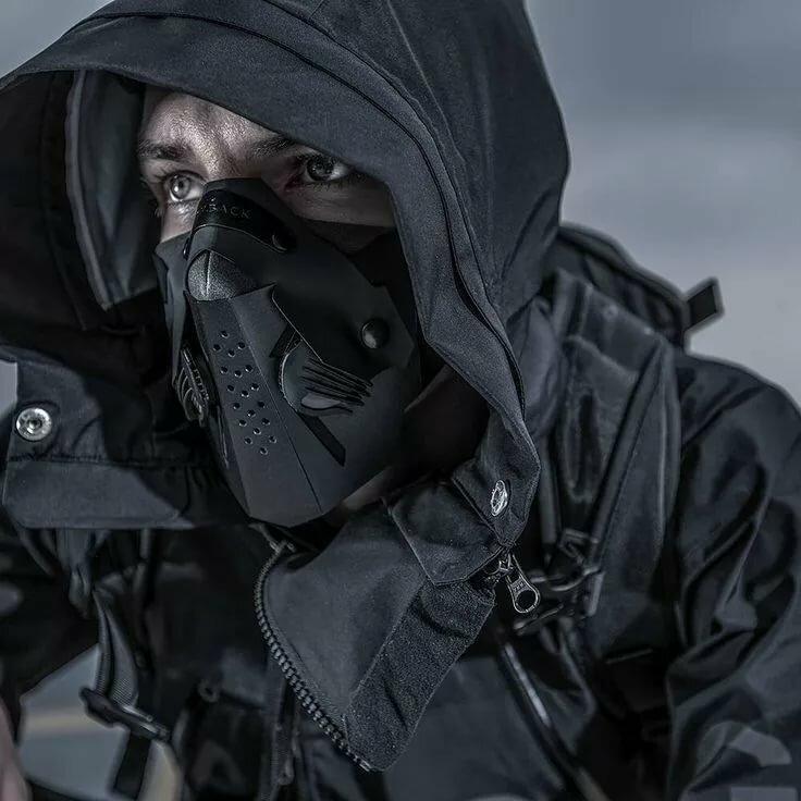 Фотки пацанов в капюшоне и маске