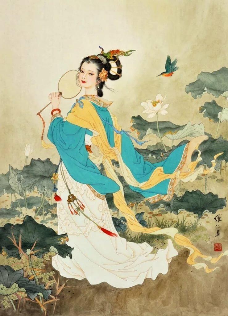 обложке может китайские сказки в картинах художников первом