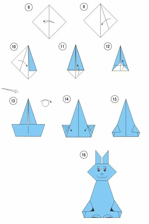 зеленому открытки оригами животных окнах установлены двухкамерные