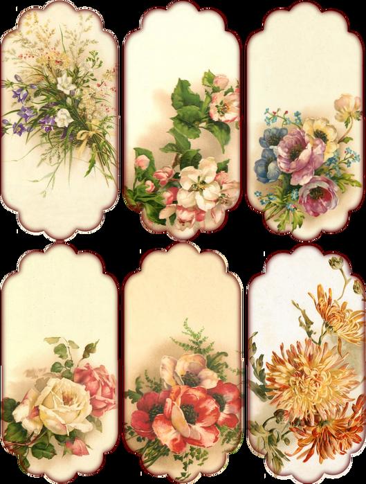 Заготовки для открыток для печати, вертикальные открытки