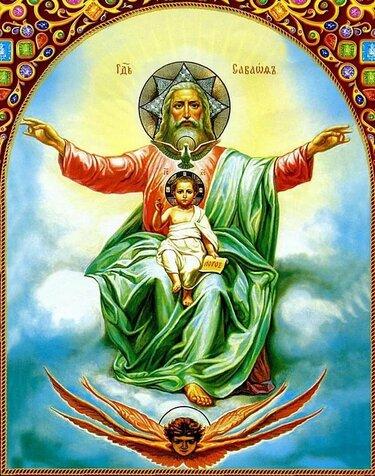 иконы с изображением бога отца