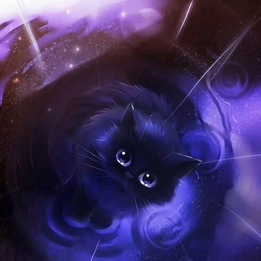Пробки, картинки аниме кошки животные