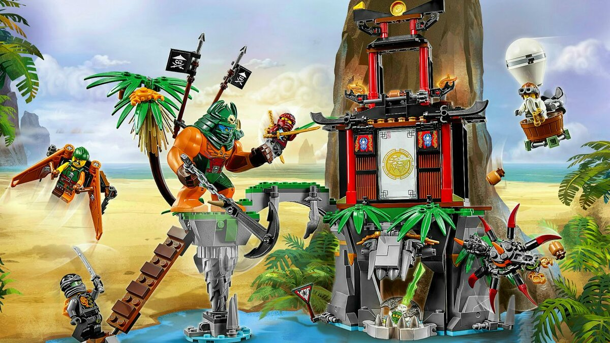 имеют картинки лего ниндзя го с небесными пиратами такие милые предметы
