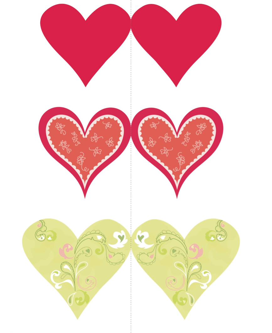 Открытки на день валентина шаблоны, девушку днем рождения