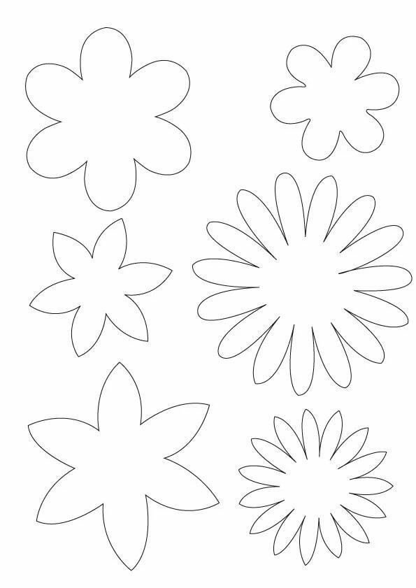 гирлянды из цветов из бумаги своими руками схемы шаблоны богатырь фото интернете