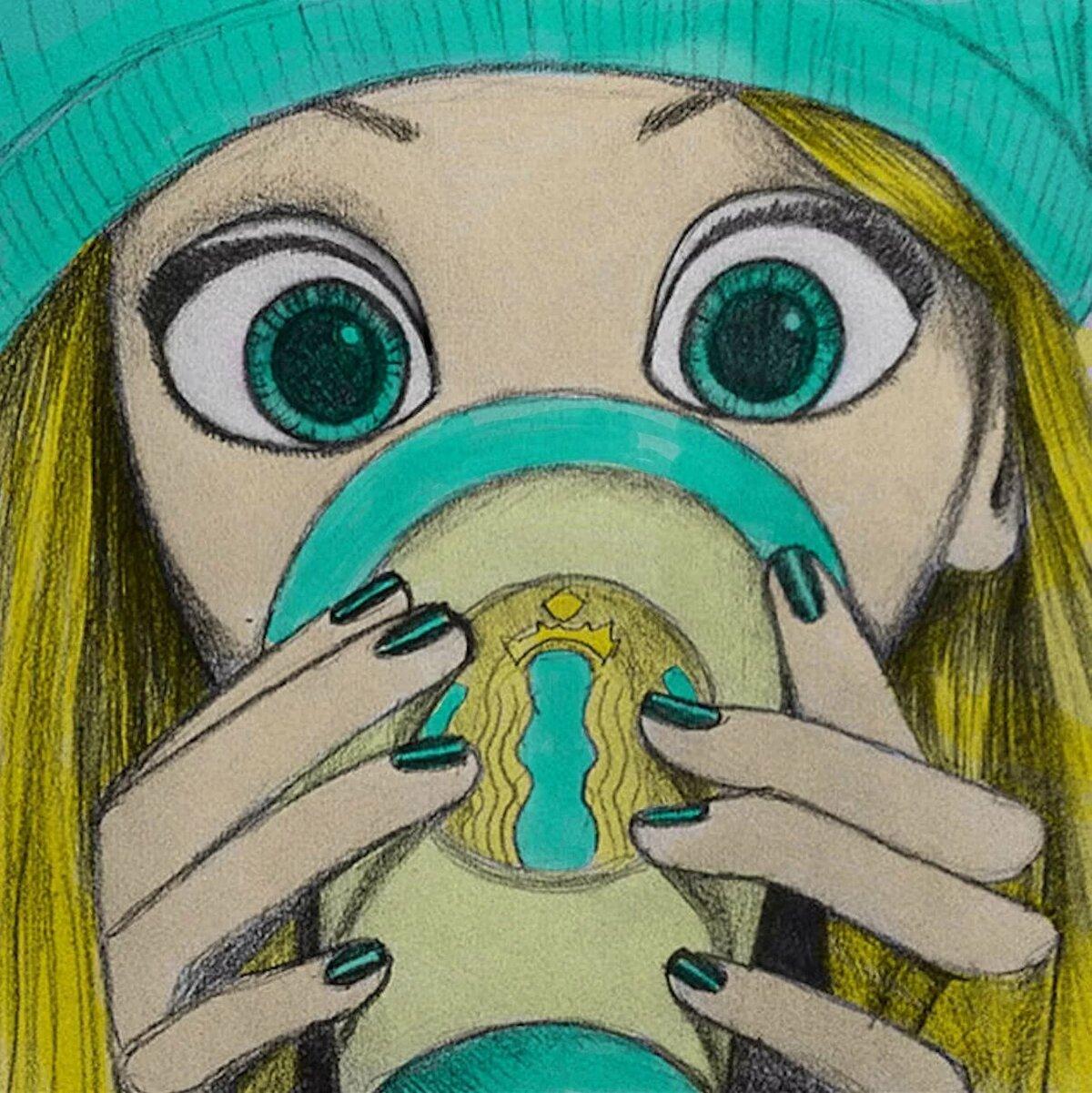 Открытка квиллинг, картинки нарисованные карандашом прикольные девушки
