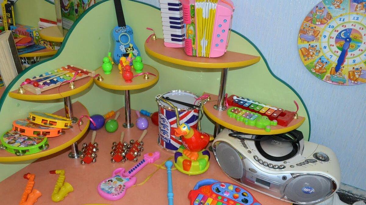 Музыкальный уголок для детского сада картинки