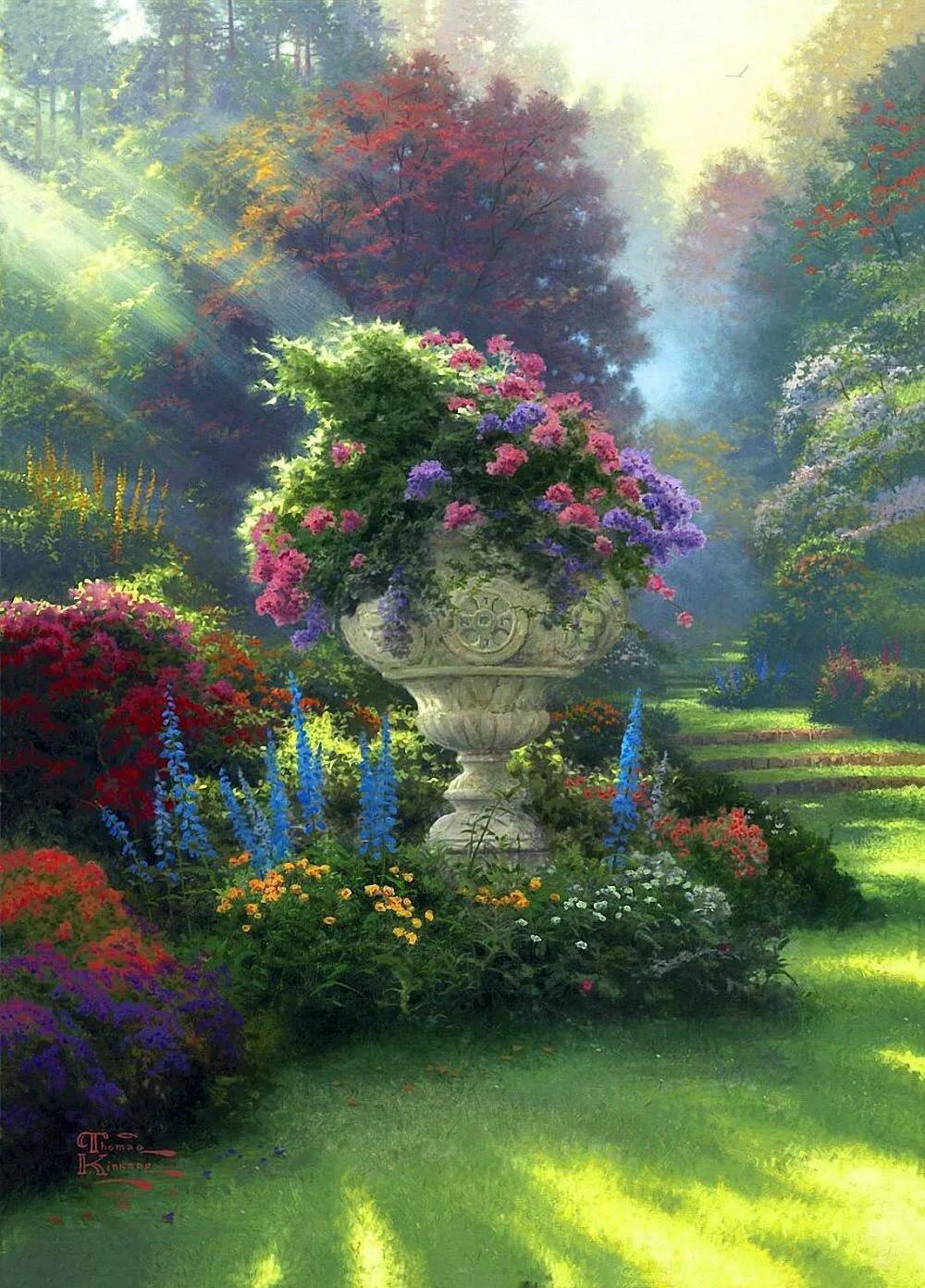 Сказочные цветы из сада картинки