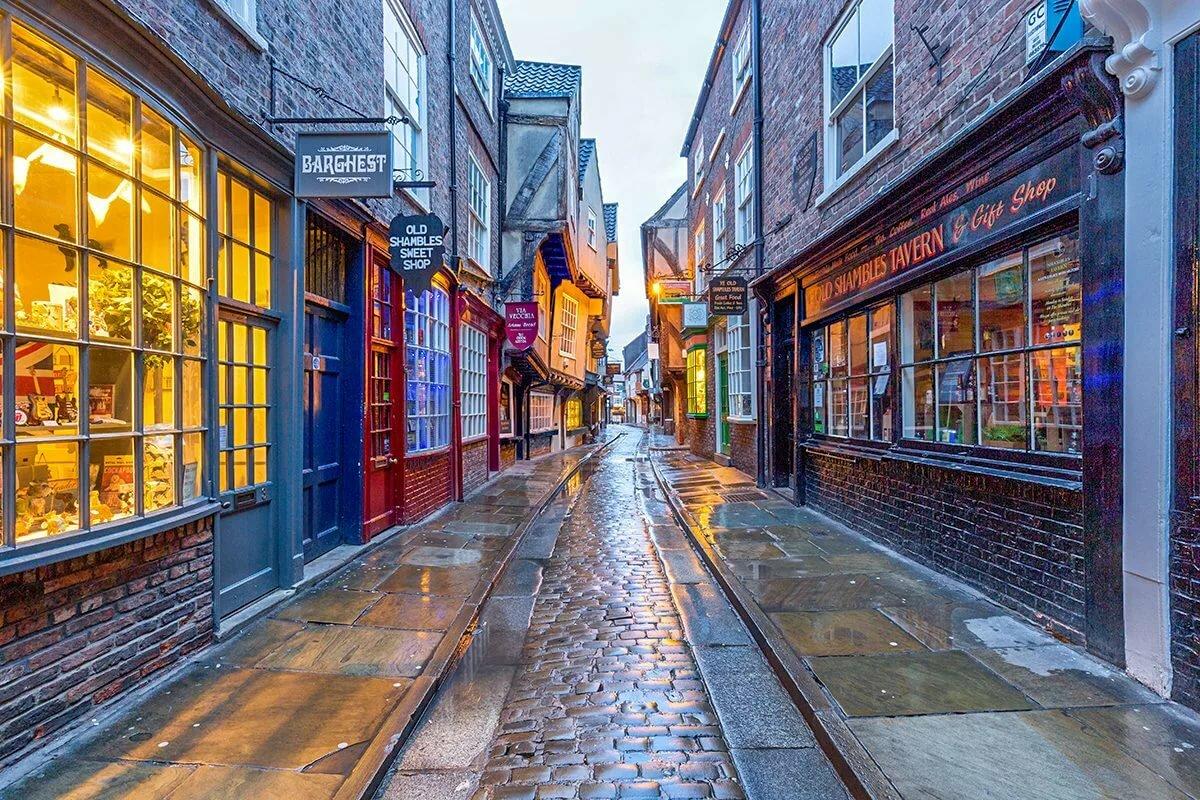 Картинка английской улицы