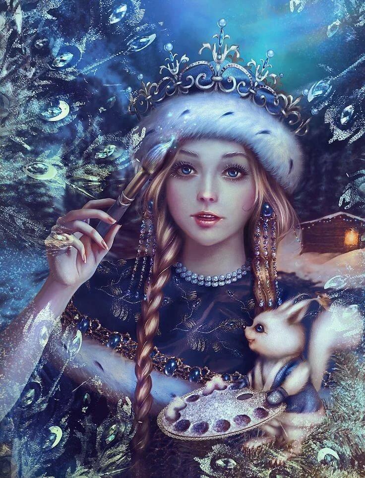 Картинка к снегурочке