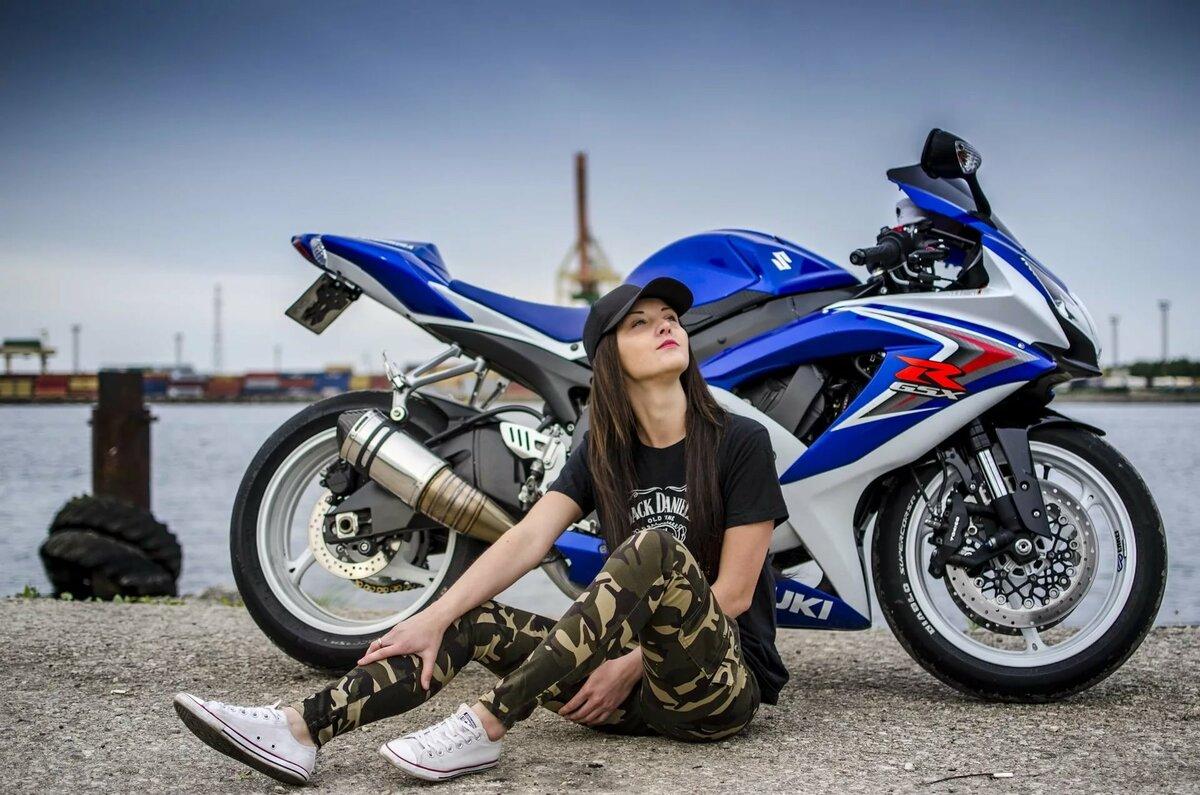 Лучшие картинки мотоциклы с девушками