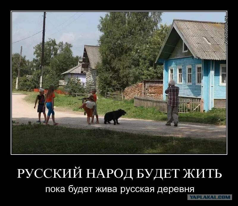 живя в россии демотиватор