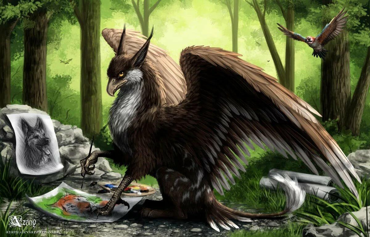Мистическое животное картинка