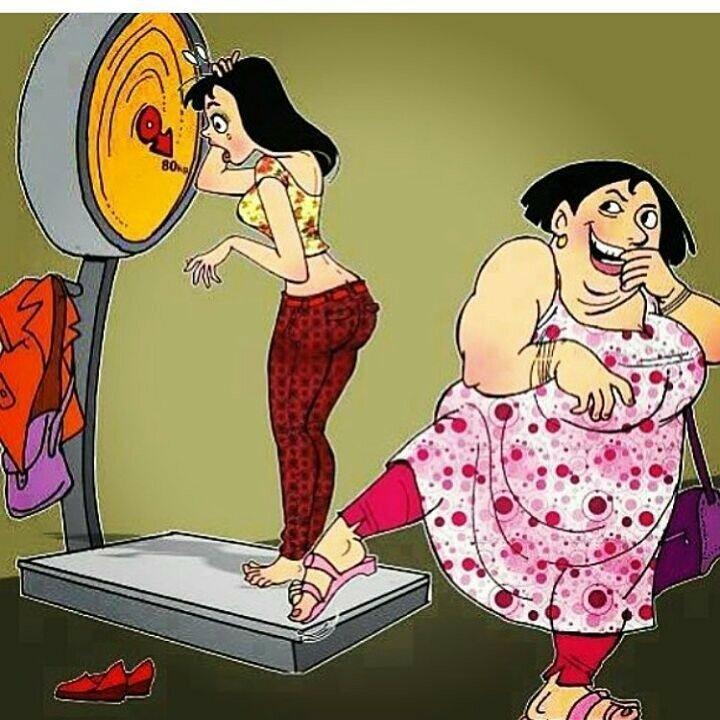 Лет мужчине, картинки весы смешные похудение