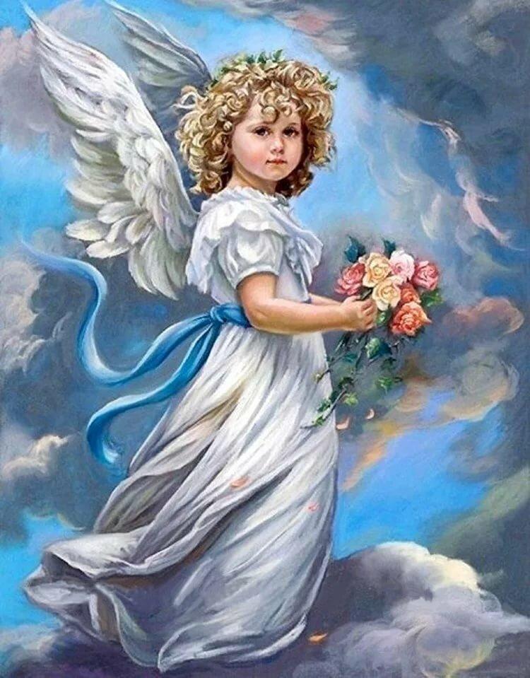 Рисунки и открытки с ангелом, медсестра для