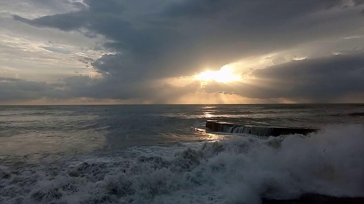 Черное море шторм фото в сочи предметом