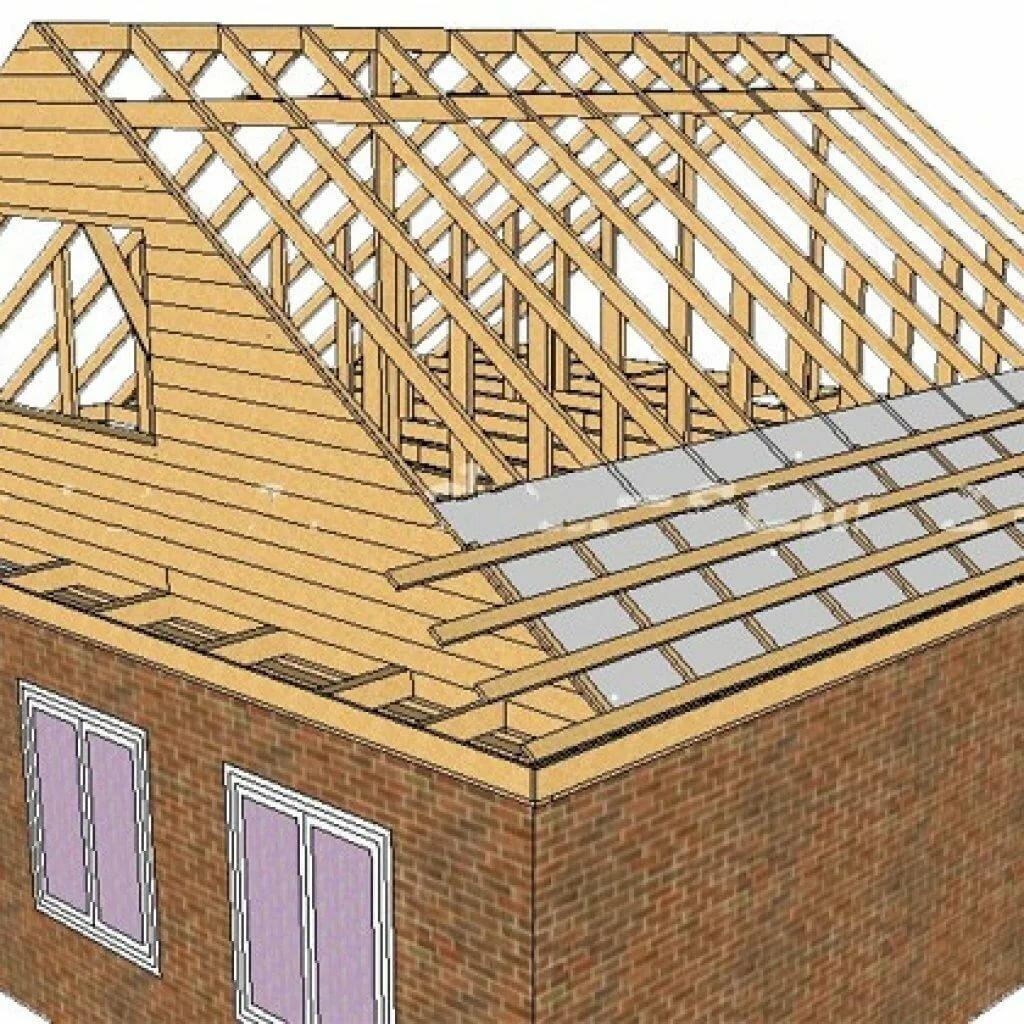 можно отправить крыша дома своими руками схема фото опровергла домыслы